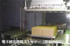 電子線加速器スキャナーの写真